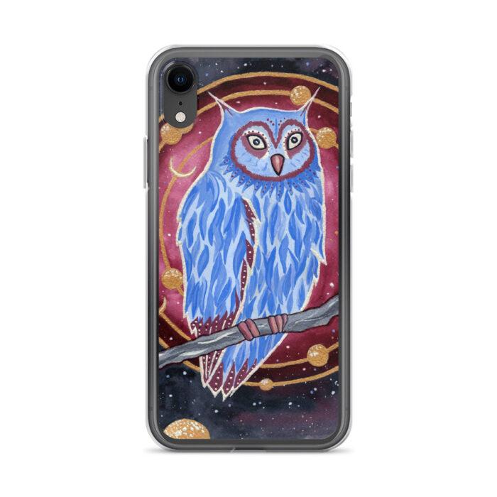 iPhone Case- Noctua the Owl by Damaris Gray