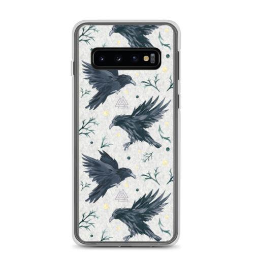 Odin's Ravens Samsung Case by Damaris Gray